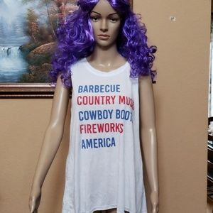 💰⬇ 🆕  country/America tank top XXL